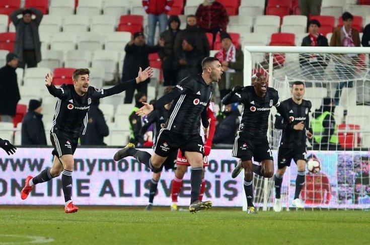 Beşiktaş, DG Sivasspor'u 2-1 yendi