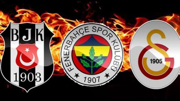Beşiktaş, Fenerbahçe ve Galatasaray'dan transfer haberleri
