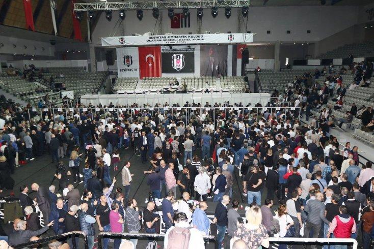Beşiktaş Genel Kurulu'nda oy verme işlemi başladı