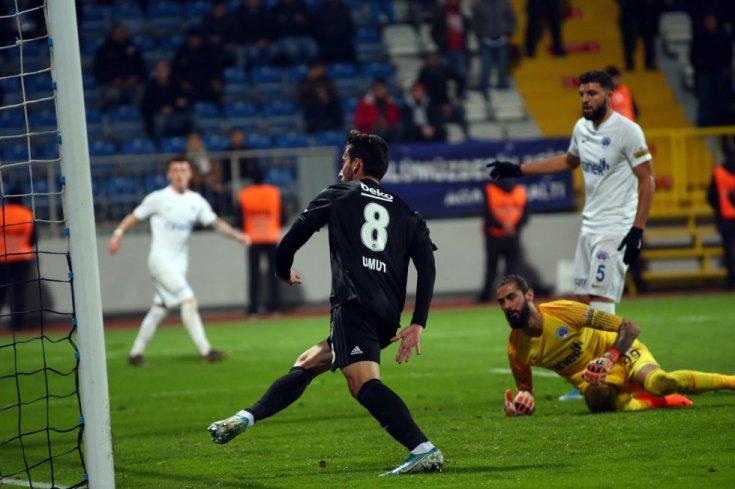 Beşiktaş, Kasımpaşa'yı 3-2 yendi