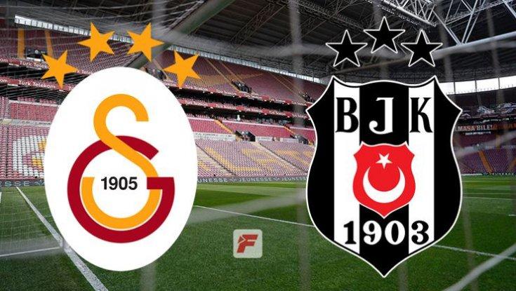 Beşiktaş ve Galatasaray 19.00'da karşı karşıya gelecek