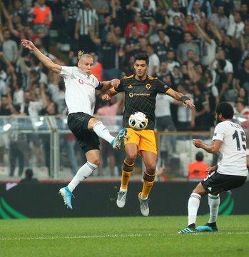 Beşiktaş, Wolverhampton'a 1-0 yenildi
