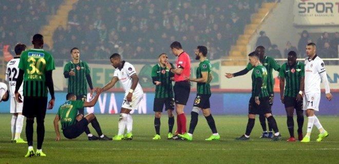 Beşiktaş-Akhisar maçı için karar verildi: Beşiktaş hükmen galip