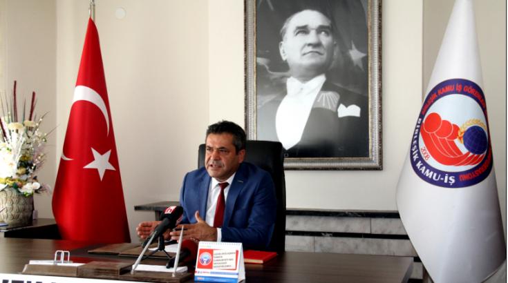 Birleşik Kamu-İş: Memur-Sen, emekçileri parçalamakta AKP hükümeti kızgın demirle harlamaktadır!