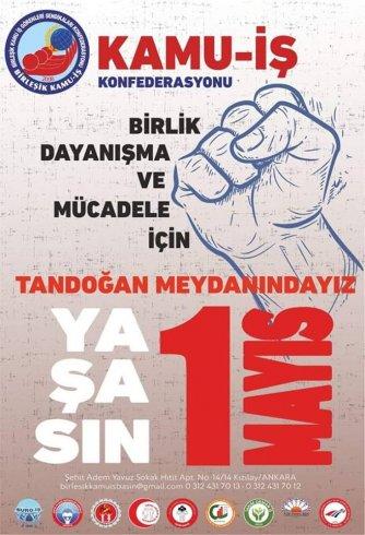 Birleşik Kamu İş'ten 1 Mayıs çağrısı