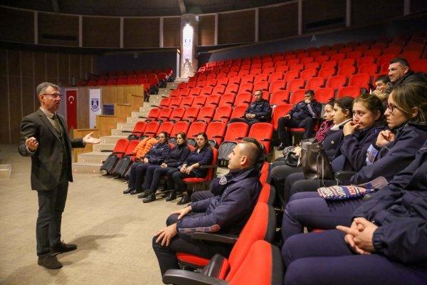 Bodrum'da zabıtaya gıda güvenliği eğitimi