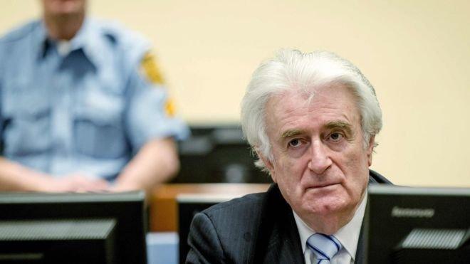 'Bosna kasabı' Radovan Karadzic'in cezası 40 yıldan müebbete yükseltildi