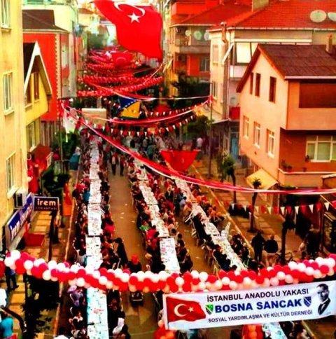 Bosna Sancak Derneği'nin 4. Geleneksel İftarı 18 Mayıs'ta yapılacak