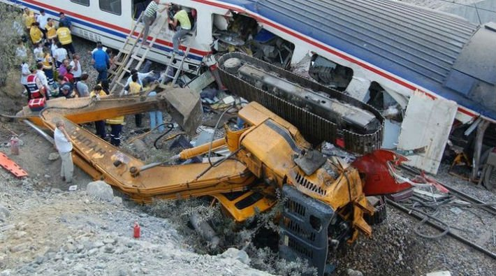 Bozüyük'teki tren faciası davasının sanıkları 'yanlış' çıktı!