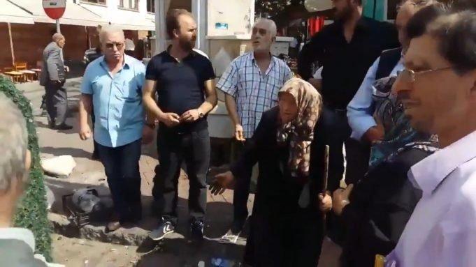 Bursa'da tepki çeken görüntü! Zabıta 80 yaşındaki kadının tezgahına el koydu