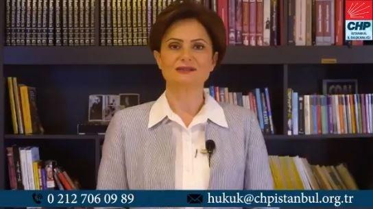 Canan Kaftancıoğlu: 23 Haziran'da bütün avukatlarımızı sandık başında görev almaya davet ediyoruz