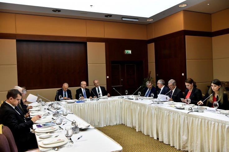 CHP Dış Politika Kurulu toplandı