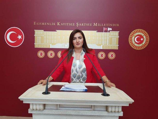 CHP İzmir Milletvekili Sevda Erdan Kılıç; O oturduğunuz mevkiler eşe, dosta, arkadaşa, akraba ve hemşehriye makam mevki dağıtma yerleri değildir