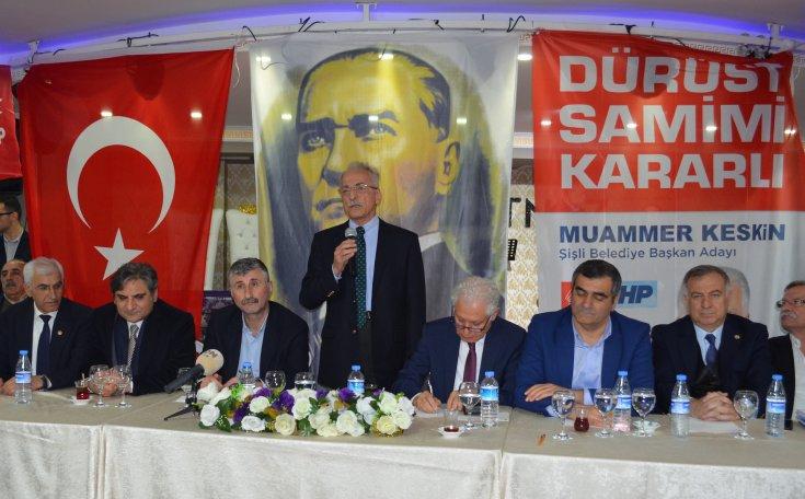 CHP'li adaylar, Okmeydanı'nın tapu ve kentsel dönüşüm sorunlarının çözümü için toplandı: 'Bu rant düzenine son vereceğiz'
