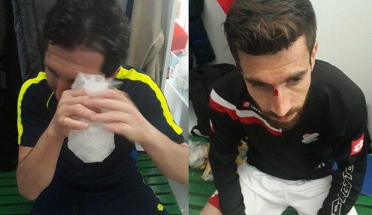 Cizrespor futbolcularına ve teknik ekibine saldırı