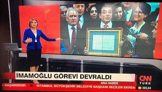 CNN Türk'te 'mazbata hatası'nın faturası spikere kesildi