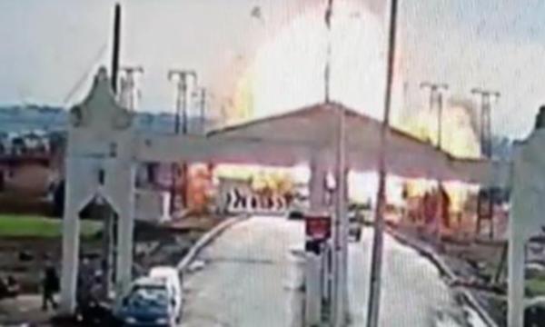 Çobanbey Gümrük Kapısı yakınlarında patlama