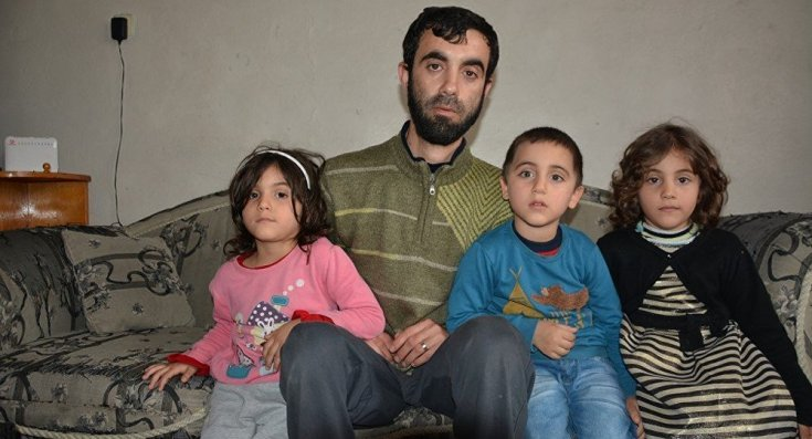 Çocuklarının adı Recep Tayyip Erdoğan, Emine ve Sümeyye koydu, iltica başvurusu reddedildi. İsimleri değiştirmek istedi, kabul edilmedi