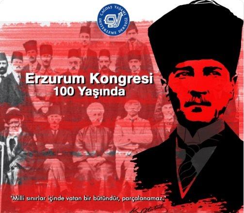 ÇYDD'den Erzurum Kongresi mesajı