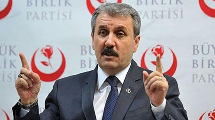 Destici: HDP, PKK'ya eleman sağlayan bir çetedir