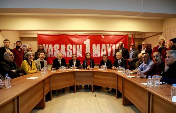 DİSK, KESK, TMMOB ve TTB'den 1 Mayıs çağrısı