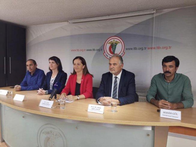DİSK, KESK, TMMOB ve TTB'den ortak açıklama: Demokratik bir ülke ve herkes için adalet istemenin zamanıdır