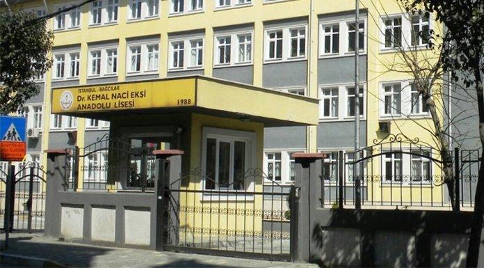 Dr. Kemal Naci Ekşi Anadolu Lisesi'nin tabelası 'imam hatip' olarak değiştirildi