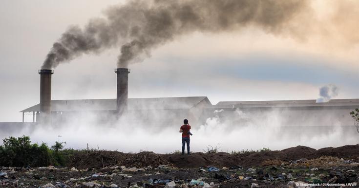Dünyada her 10 kişiden 9'u kirli hava soluyor