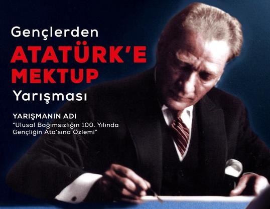 Eğitim-İş'ten ulusal bağımsızlığımızın 100. yılında 'Atatürk'e mektup' yarışması
