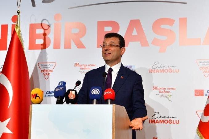 Ekrem İmamoğlu, Halk TV, KRT ve TELE 1 ortak yayınına konuk olacak