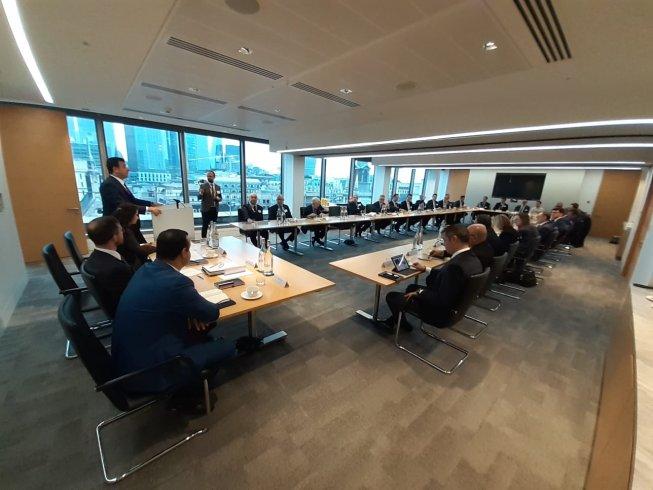 Ekrem İmamoğlu Londra'da finans kuruluşlarına seslendi: İstanbul yatırımlarınızın karşılığını alacağınız öncü bir kenttir