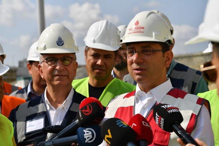 Ekrem İmamoğlu: Raylı sistemler İstanbul için çok kıymetli