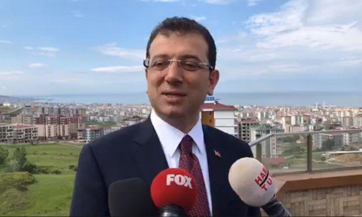Ekrem İmamoğlu'ndan 'Samanyolu TV'de çalıştı' diyen Erdoğan'a yanıt: Ben bağış toplamadım, açılış yapmadım. Hafızalarını tazelesinler, kim bağış topladı baksınlar