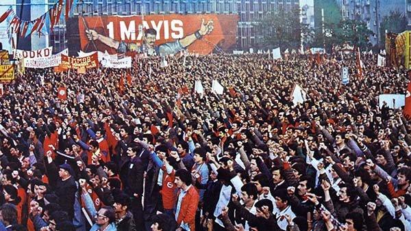 Emek örgütleri 1 Mayıs şehitlerini anıyor