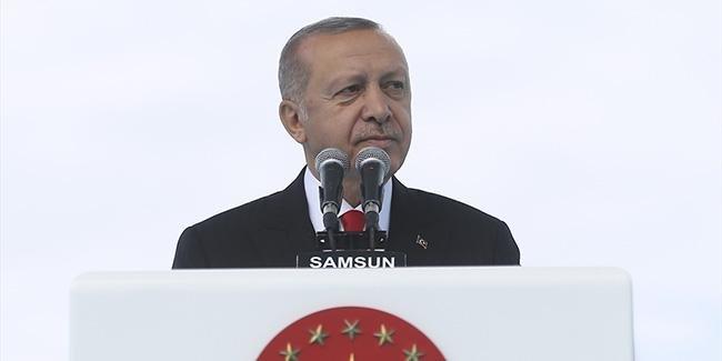 Erdoğan: 'Bizi içimizden bölmeye, dışarıdan kuşatmaya çalışıyorlar'