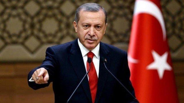 Erdoğan: Teklifimiz, hemen bu gece tüm teröristler silahlarını, malzemeleri bırakıp, tuzakları imha edip güvenli bölgeden dışarı çıksınlar