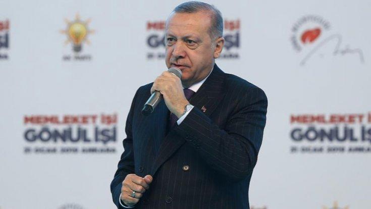Erdoğan: CHP geleneğinde sandıkta hile adeta bir tarzı siyasettir