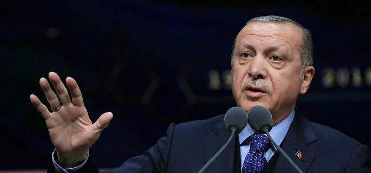 Erdoğan: TSK, Suriye Milli Ordusu'yla birlikte Barış Pınarı Harekatı'nı başlatmıştır