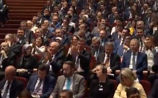 Erdoğan Yargı Reformu Paketi'ni açıkladı, Feyzioğlu alkışladı, baro başkanı tepki gösterdi