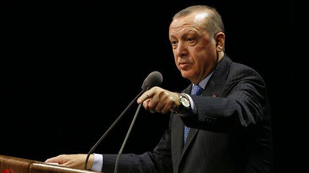 Erdoğan'dan Kılıçdaroğlu'na: Sen terör örgütünün mensuplarıyla Ankara'dan İstanbul'a yürüyebilirsin ama bizim en ufak dirsek temasımız olamaz