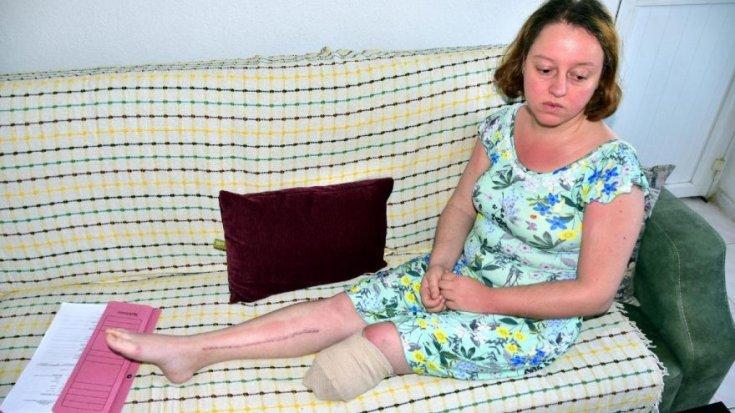 Eşi tarafından vurulan Manolya: Ölmek istemiyorum