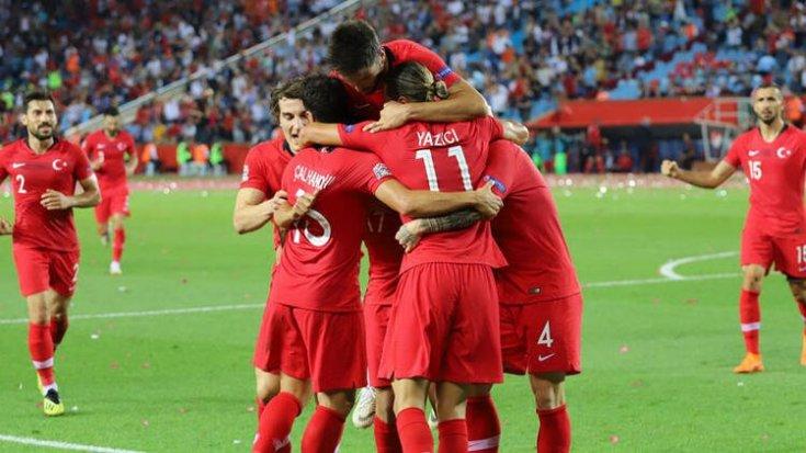 Futbol Milli Takımımız Fransa'yı 2-0 yendi