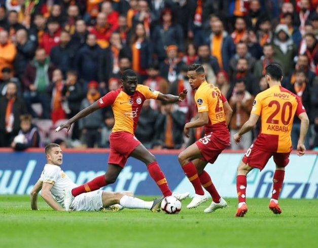 Galatasaray, İM Kayserispor'u 3-1 yendi