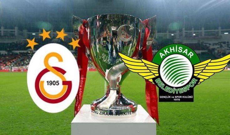 Galatasaray ve Akhisarspor Ziraat Türkiye Kupası için karşı karşıya geliyor