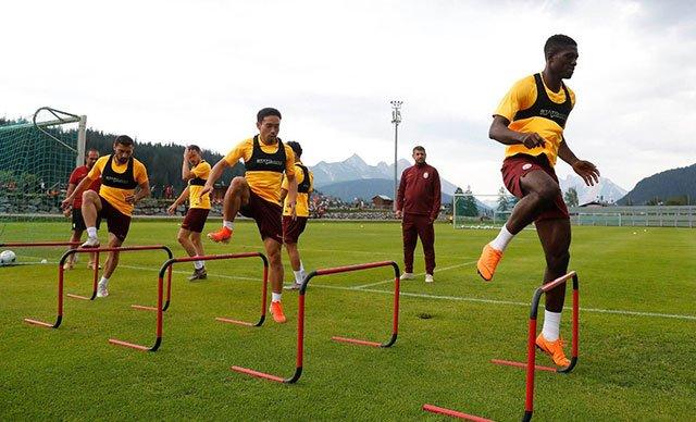 Galatasaray, yeni sezon hazırlıklarını Avusturya'da sürdürüyor