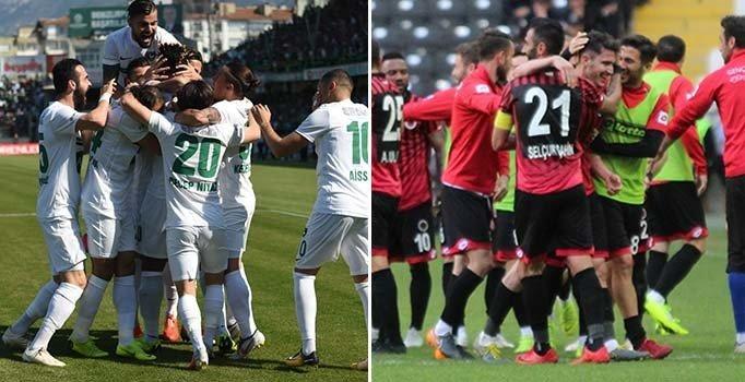 Gençlerbirliği ve Denizlispor, Süper Lig'e yükselmeyi garantiledi