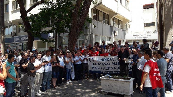 Genel-İş Sendikası'ndan AKP'li Bergama Belediyesi'ne: 'İşçi düşmanı uygulamalarınızdan derhal vazgeçin!'