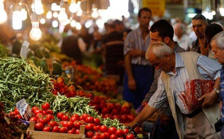 Gıda fiyatlarındaki enflasyon yüzde 54 arttı