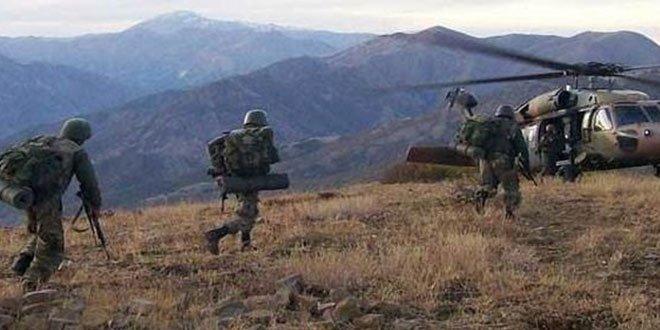 Hakkari'de 5 PKK'lı etkisiz hale getirildi