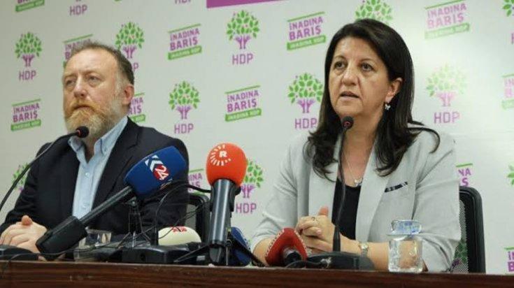 HDP eş genel başkanları Buldan ile Temelli hakkında Barış Pınarı Harekatı'yla ilgili açıklamaları nedeniyle soruşturma başlatıldı